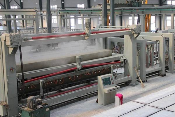 大型加气混凝土生产线